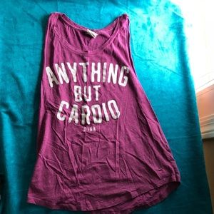Anything But Cardio Racerback by Pink VS